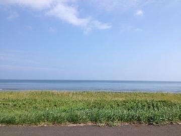 穏やかに広がる最北の海