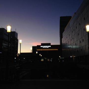 夜明け前の姫路