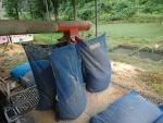 籾摺り調整作業