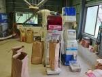 籾摺り・調整作業