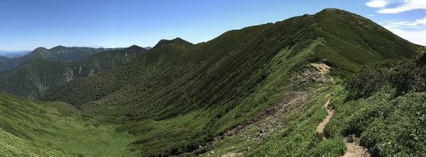 日高が好きだったのを思い出した・・・ヌカビラ岳・北戸蔦別岳