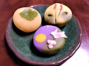 敬老の日 和菓子3品