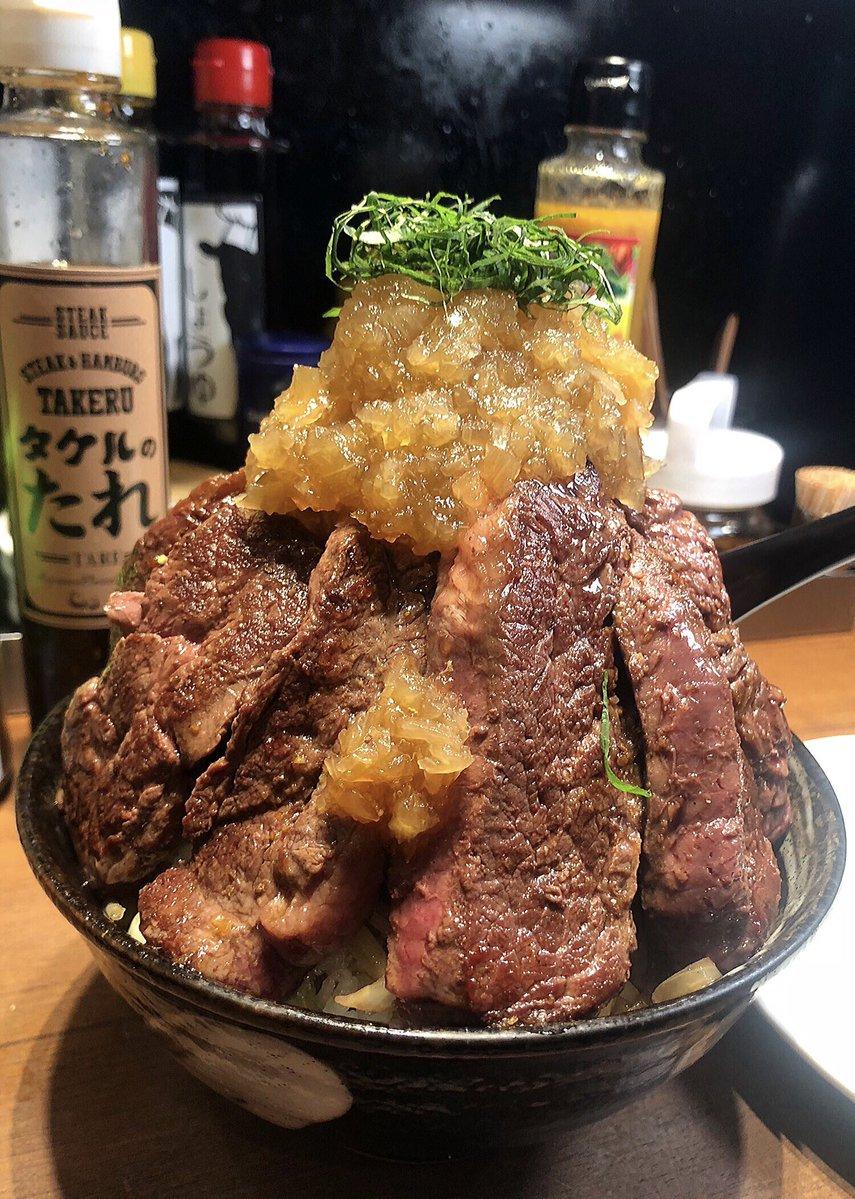 山本瑠香が食べたステーキ丼のボリュームがハンパない!