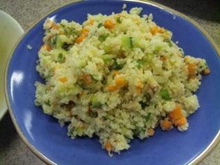 ブルグルのサラダ