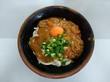 カレー釜玉1.5玉520円