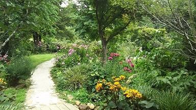 ガーデン内小径
