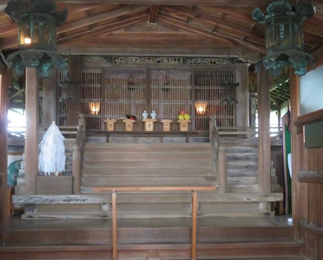加太春日神社 本殿