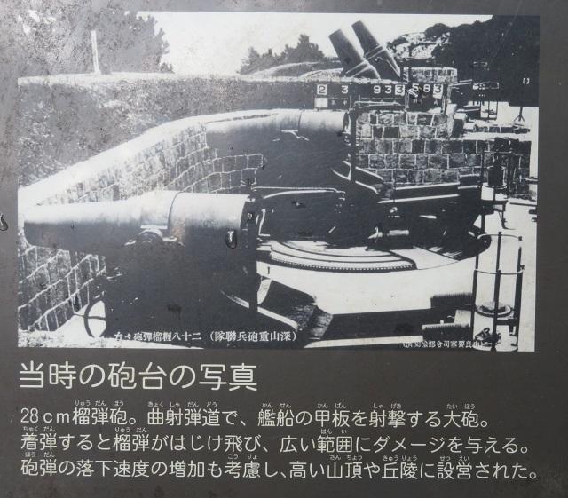 当時の砲台の写真