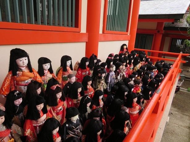 淡島神社 人形2