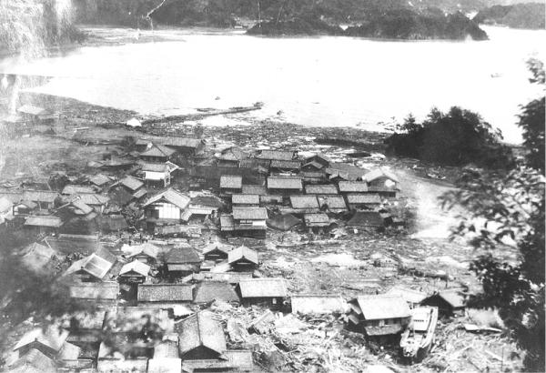 昭和南海地震 浅川港