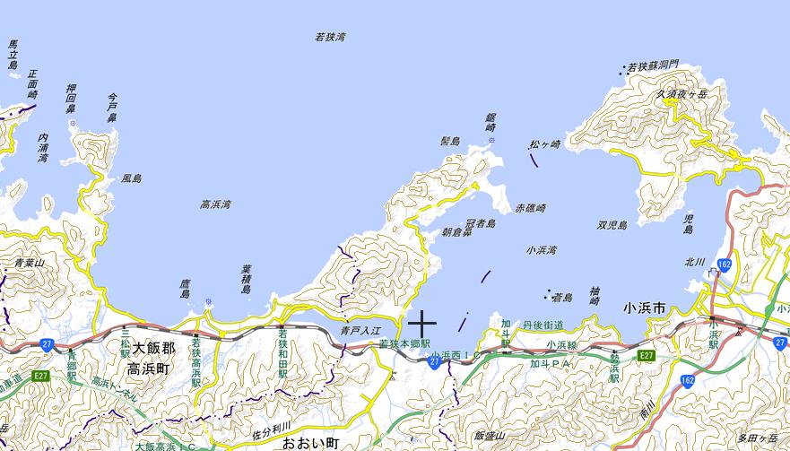 高浜、小浜地図