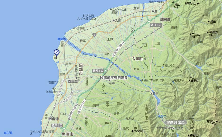 新治神社地図