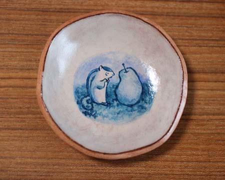 ヤコのオーブン陶土アクリル着色2