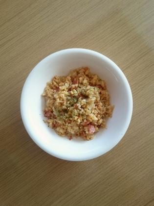 叉焼と玉子の炒飯1