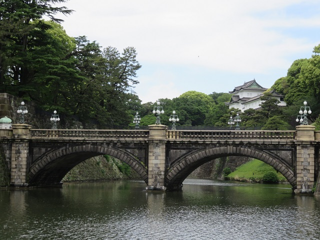 IMG_1200 皇居正門石橋と伏見櫓