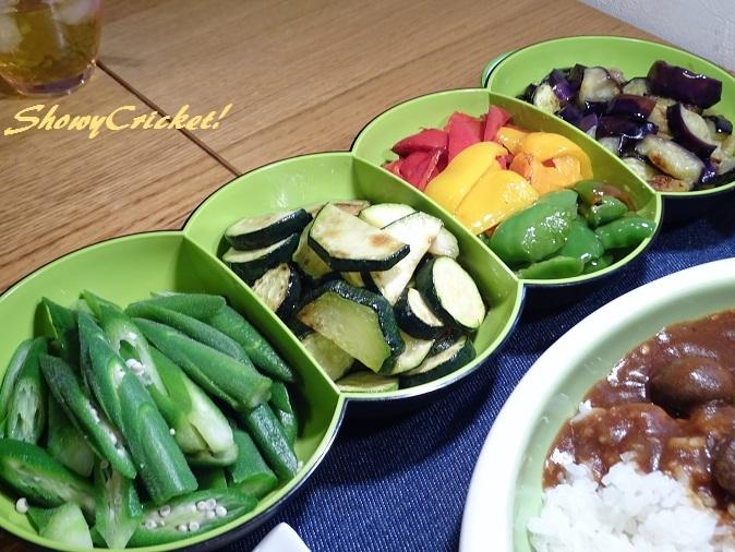 2018-08-12夏野菜カレー (4)