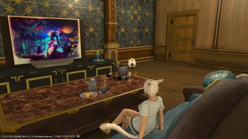 お風呂から上がり、テレビを見ていたら