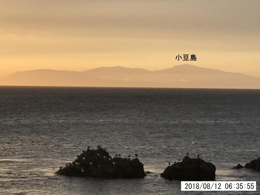 小豆島を遠望