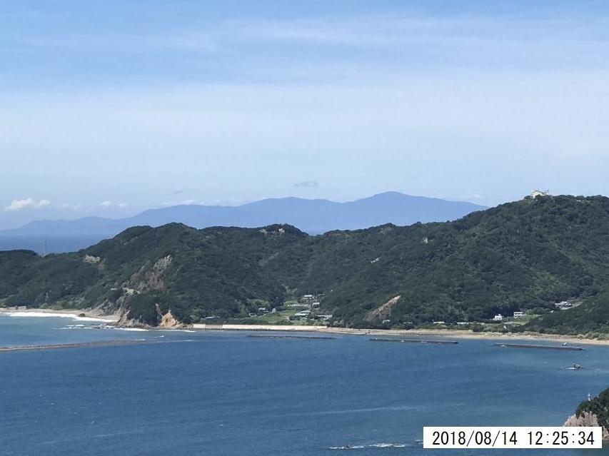 大見山から小豆島を眺める