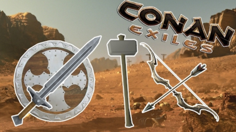 【Conan Exiles】攻略おすすめの最強武器は??1秒あたりのダメージ(DPS)で計測した効率一覧(コナンアウトキャスト)