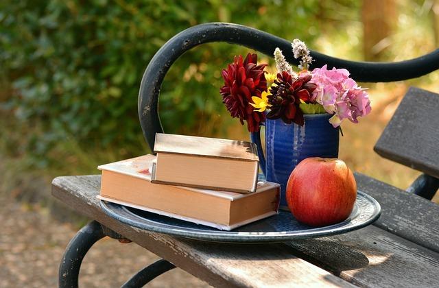 花束とりんご