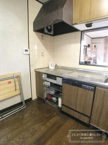 引っ越し後のキッチン整理 (3)