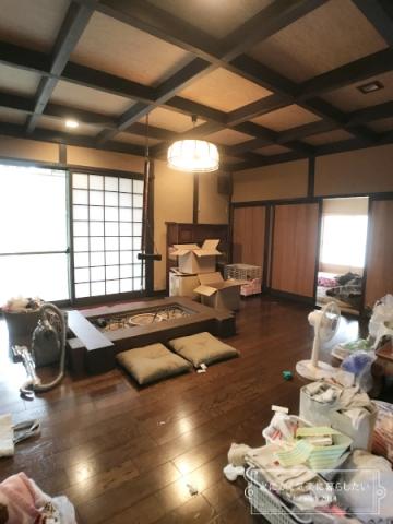 引っ越し後のキッチン整理 (2)
