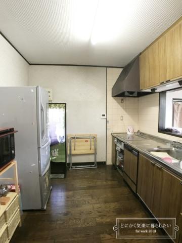 引っ越し後のキッチン整理 (7)