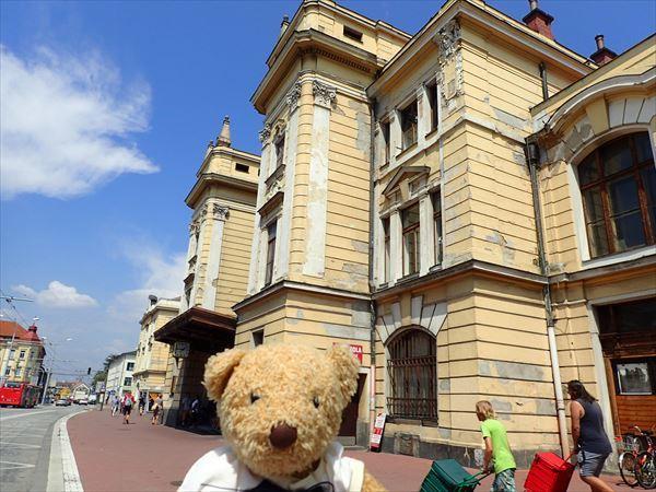チェスケブジェヨヴィッツェ駅舎