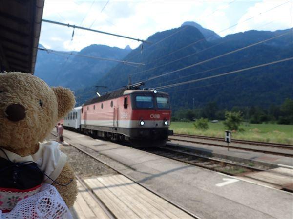 電車、来た。
