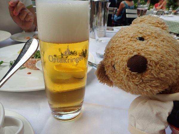 ビールも。
