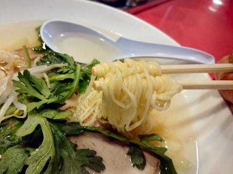 麺リフティング@揚子江ラーメン名門