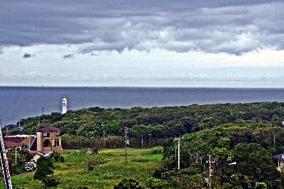 潮岬タワーより望む