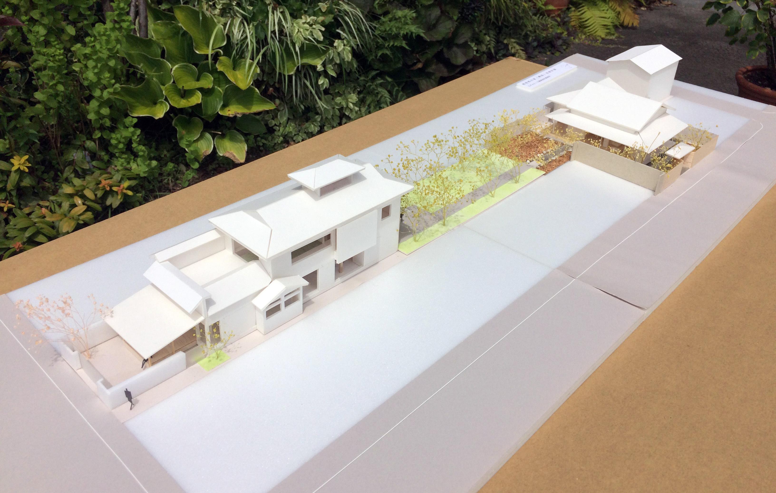 小高の母屋 計画模型