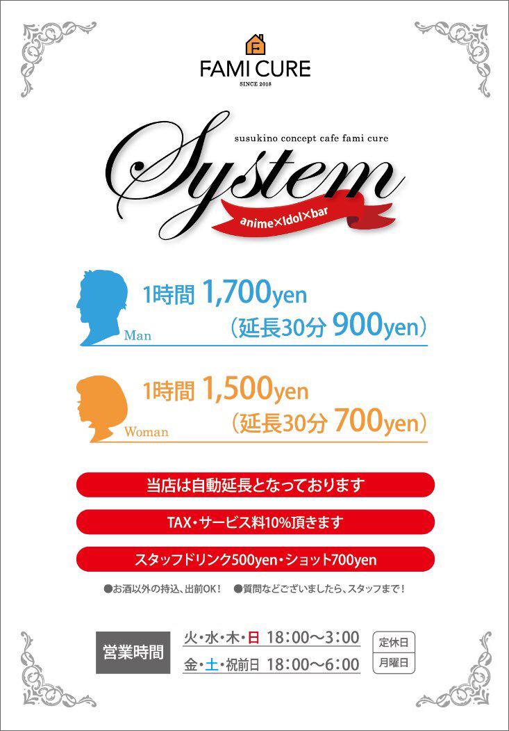 ファミキュア_システム