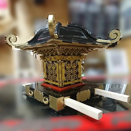 平塚市四之宮 前鳥神社大神輿模型(1/6サイズ)・相州型