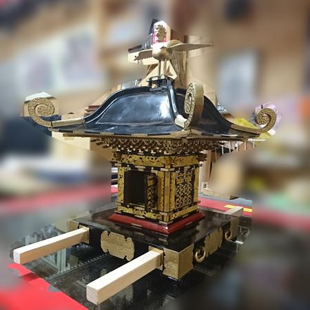 相模国四之宮 前鳥神社大神輿模型(1/6サイズ)