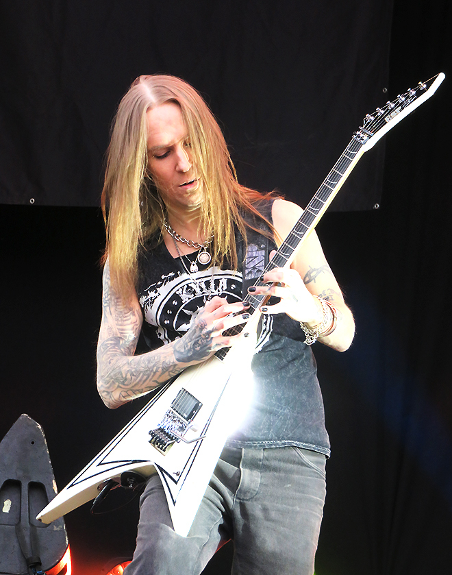 Alexi Laiho Local Band Kaisaniemi 2018