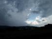 雷雨の後の空