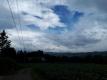 南の空の青空