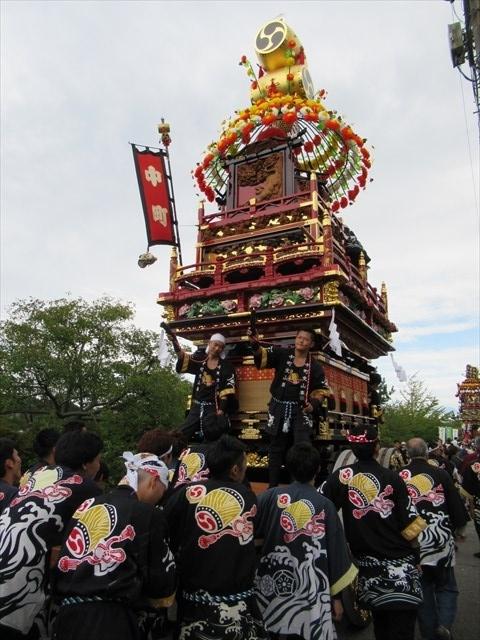 海老江中町の曳山6
