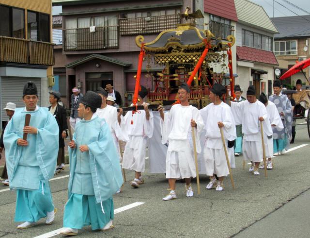尾花沢祭・行列4