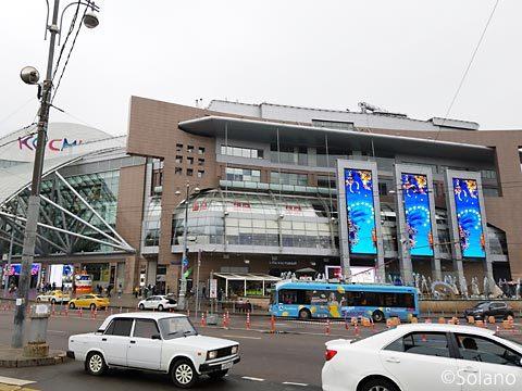 キエフスカヤ駅前の大型ショッピングセンター・エヴエロペイスキー