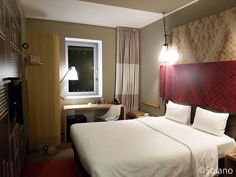 モスクワのホテル、イビスモスクワ・キエフスカヤの客室