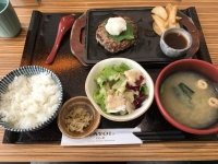 鐵板和風漢堡肉定食180913