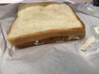 トンカツチーズトースト180923