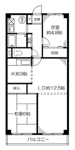 ニューライフマンション_間取り図