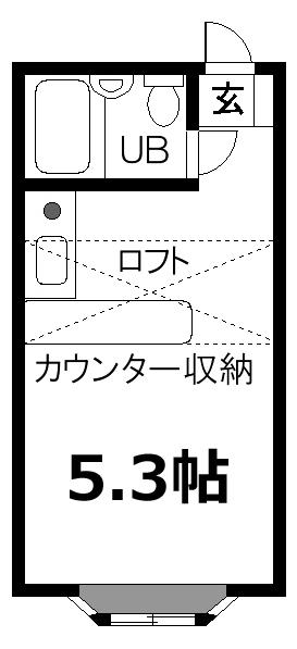 ■物件番号5529 パーク近い!海5分!セカンドハウス!1人暮らし!格安3.4万円!