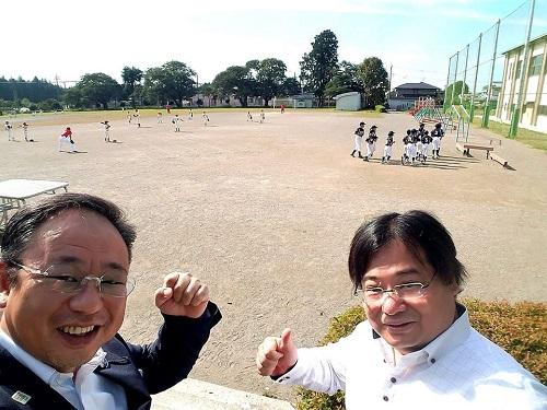 宇都宮西部地区学童軟式野球交流会<第68回親善大会 開会式>
