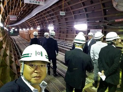『北海道インフラツアー』の取組と『望月寒川放水路トンネル計画』!④